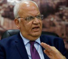 عريقات يحذر من عواقب قرار الحكومة الإسرائيلية ضم الضفة على 'عملية السلام'