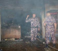 9 إصابات بالاختناق جراء احتراق مخبز في قلنديا