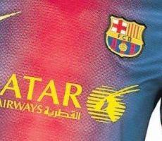 من سيكون بديلاً لطيران قطر على قميص برشلونة؟