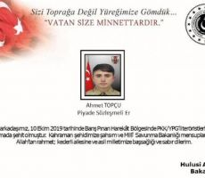 أنقرة تعلن عن مقتل أول جندي تركي بعمليتها العسكرية