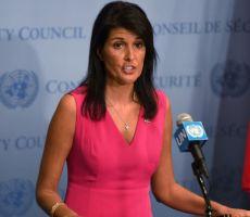 هيلي تشكك بعدد اللاجئين الفلسطينيين