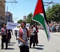 مشاركة فلسطينية في مهرجان الزهور الدولي في بلغاريا