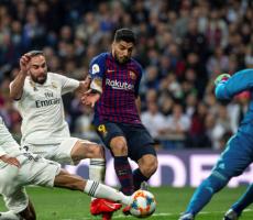 شاهد الصورة: تمزق ركبة فاران في مباراة ريال مدريد وبرشلونة