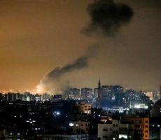 إصابتان في سلسلة غارات استهدفت غزة