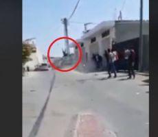 فيديو...دهس شرطي في قلقيلية وحالته خطيرة