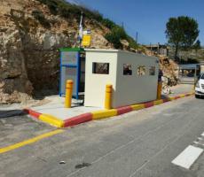 الاحتلال يشرع باقامة تحصينات للجنود والمستوطنين بالضفة