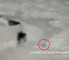 فيديو: الاحتلال يزعم إحباط عملية ضد جنوده على حدود قطاع غزة