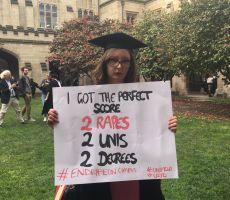 'أنهوا الاغتصاب'.. نصف طالبات الجامعات الأسترالية تعرضن للتحرش.. وهذا مصير التي تتقدم بشكوى!