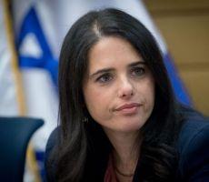 وزيرة العدل الإسرائيلية: يجب منح أفضلية للعمال الفلسطينيين