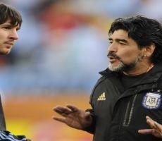 ميسي: مارادونا لن يغادرنا