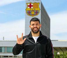 أغويرو: اتخذت القرار الصحيح بالانتقال إلى برشلونة