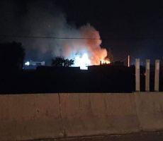 سماع دوي انفجارات قرب ميناء اللاذقية السوري