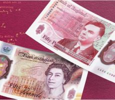 ورقة الـ50 جنيه إسترليني الجديدة تحمل صورة آلان تورينغ.. فمن هو؟