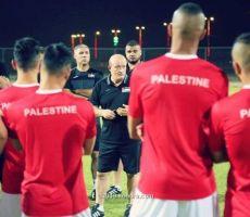 منتخب فلسطين ينهي تجمعه الأول استعدادًا لأوزبكستان