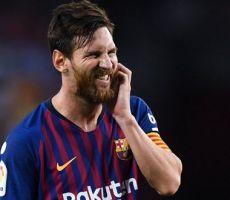 برشلونة يعلق على استبعاد ميسي من قائمة 'الأفضل'