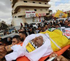 الآلاف يودعون الشهيد الأسير المحرر حسين مسالمة