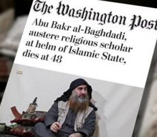 واشنطن بوست تُعدّل عنوان مقتل البغدادي 3 مرات