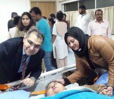 صدمة للمصرية التي تزن نصف طن عقب وصولها الهند للعلاج