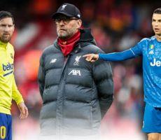 مدرب ليفربول يصدم ميسي ويتغزل برونالدو