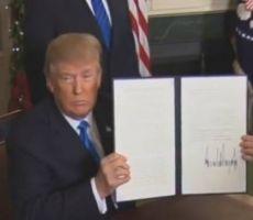ترامب يعترف رسميا بالقدس عاصمة لاسرائيل ويوعز للخارجية بالبدء في اجراءات نقل السفارة اليها