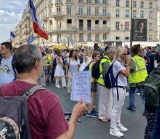 تجدد التظاهرات ضد إجراءات كورونا في فرنسا