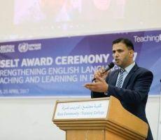 الأونروا تكرم مشرفي ومدرسي اللغة الانجليزية لمشاركتهم في برنامج تدريبي للمجلس الثقافي البريطاني