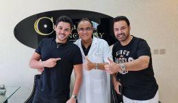 عاصي الحلاني يتألق بابتسامة 'انشاصي سمايل' في دبي