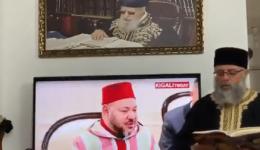 """""""شاهد"""" دعاء بـ""""العبرية"""" في إسرائيل للملك محمد السادس يثير غضب المغاربة"""