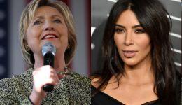 كيم كارداشيان: 'من أجل أطفالي - أنا مع هيلاري كلينتون'