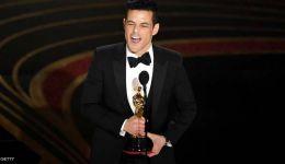 رامي مالك يتوج بجائزة أوسكار 'أفضل ممثل'