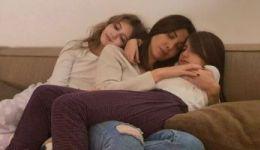 'بروحنا نحميكن'.. أول صورة لـ' نانسى عجرم' مع بناتها بعد اتهام زوجها بالقتل