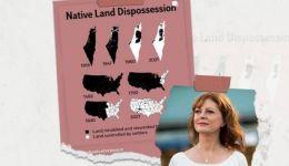 غردت ضد 'اسرائيل': ممثلة أميركية تقارن بين تهجير الفلسطينيين والأميركيين الأصليين