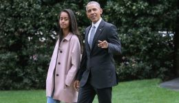 شاهد: ضبط ابنة 'أوباما' في وضعٍ حرج مع صديقاتها!!