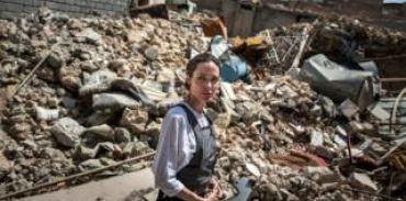 أنجلينا جولي من الموصل: هذا أسوأ دمار شهدته خلال عملي مع مفوضية اللاجئين