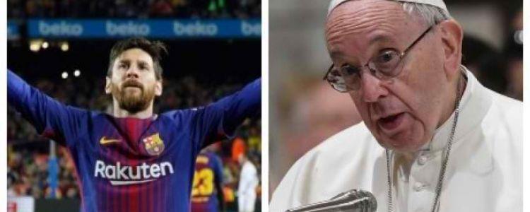 البابا : لا يجوز لعشاق ميسي تدنيس المقدسات