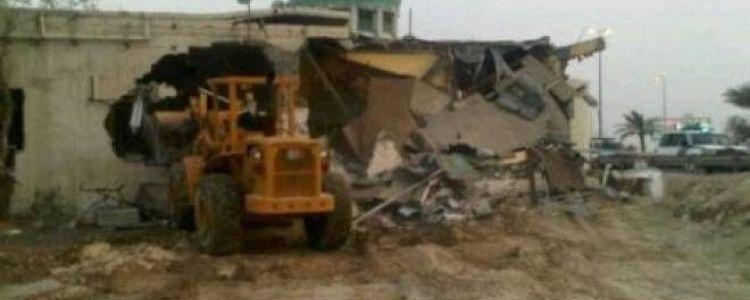 الاحتلال يهدم مدرسة ومسجد ام قصة شرق يطا