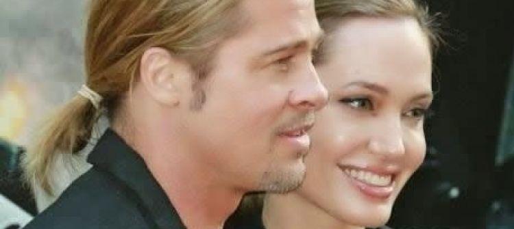 أنجلينا جولي تهدي براد بيت جزيرة على شكل قلب في عيد ميلاده