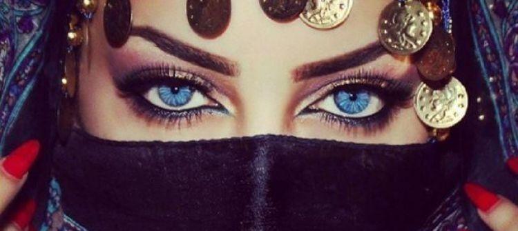 """بالصور.. تعرف على """"العمانية"""" صاحبة أجمل عيون ساحرة في العالم"""
