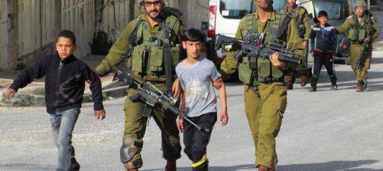 الاحتلال يعتقل ما معدله 190 طفلا شهرياً