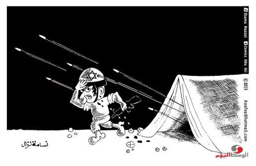 كاريكاتير الوسط اليوم..أسامة نزال