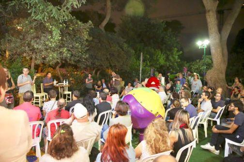 النائب عودة يلتقي جمهورًا حاشدًا من اليهود والعرب في حيفا