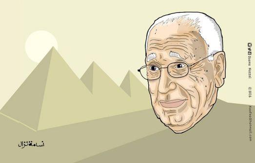 كاريكاتير هيكل...أسامة نزال