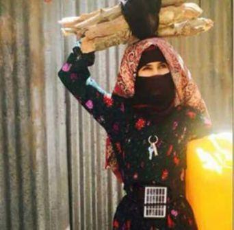 صورة: ملكة جمال الحرب اليمنية تغزو مواقع التواصل