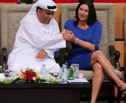 وزيرة الثقافة الإسرائيلية سفيرة التطبيع في الخليج و أبو ظبي