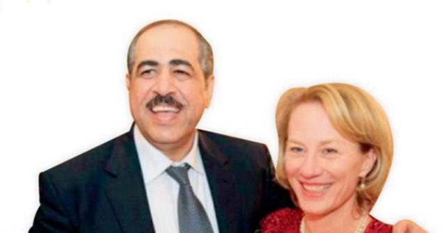 سفيرة أمريكا في عمان تستبدل ملابسها داخل غرفة نوم برلماني أردني