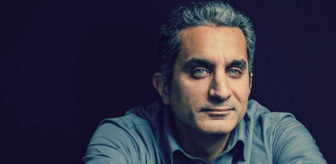 باسم يوسف يفسر أسباب تجاهله نعي أحمد زويل: «أنا مش صفحة وفيات»