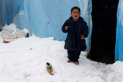 نصف مليار دولار تكلفة احتفالات العام الجديد بدبي ونصف مليون لاجيء سوري في مهب الثلوج