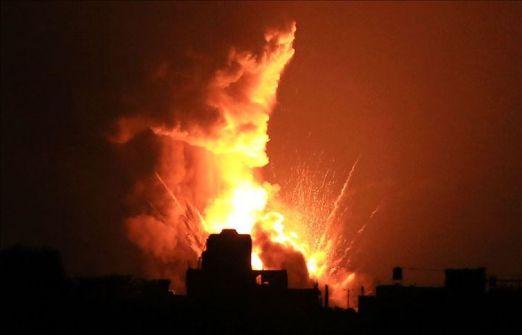 بيان لجيش الاحتلال : هذا ما تم استهدافه في قطاع غزة
