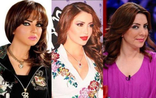 نجوم سوريون من اصل فلسطيني