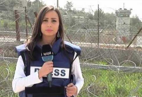 مليحة اعلامية واعدة باحداث تغيير اعلامي'نبال فرسخ' /يوسف شرقاوي